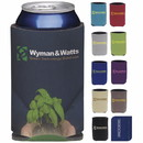 Koozie Custom 45823 Collapsible Eco Can Kooler, Polyester with Foam Backing