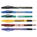 Custom 55128 Comfort Stick Frosted Pen, Plastic
