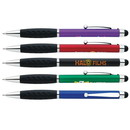 Custom 55691 Stylus Grip Pen, Plastic, 5-3/8