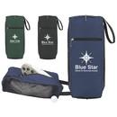 Custom 61183 Golf Mesh Shoe Bag, 600D Polyester / PVC (Polyvinyl Chloride) Mesh