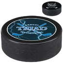 Custom 61674 Hockey Puck, Vulcanized Rubber, 1