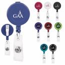 Custom 65068 Promo Retractable Badge Holder, Plastic, Metal, Nylon