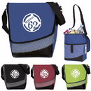 Atchison AP7030 Crossbody Messenger Lunch Cooler, 600 Denier Polyester, 9