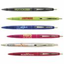 Custom CLCLG - BIC Clear Clics Gold Pen, 1/2