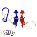 Custom Cat Shape Bottle Opener Key Chain, 2 1/4