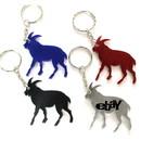 Custom Goat Shape Bottle Opener Key Chain, 2