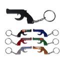 Custom Gun Shape Bottle Opener Keychain, 2 1/4