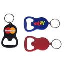 Custom Round Bottle Opener Key Chain, 3 5/32