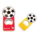 Custom Jumbo Size Soccer Shape Magnetic Bottle Opener, 2