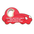 Custom Jumbo Size Car Shape Magnetic Bottle Opener, 4 1/4