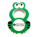 Custom Jumbo Size Frog Shape Magnetic Bottle Opener, 2 1/4
