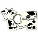 Custom Jumbo Size Cow Shape Magnetic Bottle Opener, 4