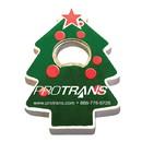 Custom Jumbo Size Christmas Tree Shape Magnetic Bottle Opener, 3