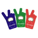Custom Jumbo Size Beer Bottle Shape Magnetic Bottle Opener, 2 3/4