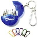 Custom Mini 4-In-1 Screwdrive Tool Set Keychain, 2