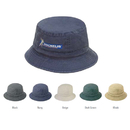 Custom BK-XL Pigment Dyed Washed Bucket Hats - Screen Print