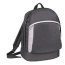 Custom BP1122 Black Polyester Backpack, 600D Polyester/PU - Screen Print