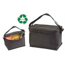 Custom CO1083 Black Recycled Cooler, Outside Fabric w/ Pet Non-Woven Recycled - Screen Print
