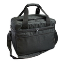 Custom CO1131 Black 600D Polyester with PVC Silver Lining Cooler - Screen Print