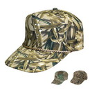 Custom CSGT Cotton Twill Camouflage Cap - Embroidery