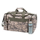 Custom DB1183 Digital Gray Camo Duffle Bag, 600D Polyester - Screen Print