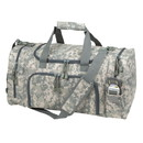 Blank Nissun Cap DB1213 Digital Camo Duffle Bag, 600D Polyester w/ Vinyl Backing - Digital Gray Camo