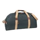 Custom DSB Black/Khaki Deluxe Sports Bag, 600D Polyester w/ Heavy Vinyl Backing - Screen Print