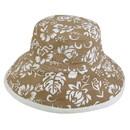 Blank Nissun Cap FLORAL Floral Hat, 100% Cotton/Canvas