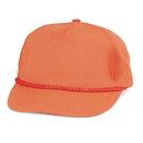 Custom NTGC Cotton Neon Twill Cap - Orange - Embroidery