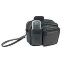Custom OWP6061 Black Waist Pouch, Leather, 6-1/2
