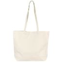 Custom ST4191 Natural Canvas Tote with Velcro Closure, 12 Oz Cotton CanvAS - Embroidery