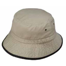 Custom TBK Bucket Hat with Trim (Washed) - Embroidery