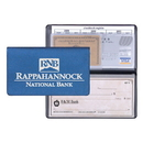 Custom CBC-15 Checkbook Covers, Frosted Vinyl, 3 1/2 x 6 1/2 inch