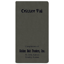 Custom CPJ-18 Critter Pal - Pet Information, Canyon Covers, 3 1/2 x 6 1/2 inch, Saddle-Stitched