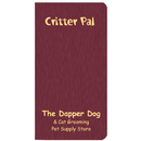 Custom CPJ-1A Critter Pal - Pet Information, Shimmer Colors, 3 1/2 x 6 1/2 inch, Saddle-Stitched