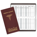 Custom DLB-13 Diabetes Log Book, Continental Covers, 3 1/2 x 6 1/2 inch, Saddle-Stitched