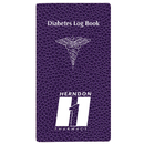 Custom DLB-1C Diabetes Log Book, Cobblestone Covers, 3 1/2 x 6 1/2 inch, Saddle-Stitched
