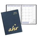Custom MB-33 Monthly Desk Planners, Continental Vinyl Covers, 8 1/2 x 11 inch