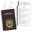 Custom MRO-21 Military Readiness Organizer, Leatherette Covers, 5 1/2 x 8 1/2 inch, Wire-Bound