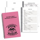 Custom MRO-24 Military Readiness Organizer, Twilight Covers, 5 1/2 x 8 1/2 inch, Wire-Bound