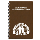 Custom MRO-28 Military Readiness Organizer, Canyon Covers, 5 1/2 x 8 1/2 inch, Wire-Bound
