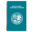 Custom MRO-2A Military Readiness Organizer, Shimmer Covers, 5 1/2 x 8 1/2 inch, Wire-Bound