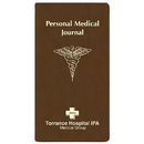 Custom PMJ-18 Personal Medical Journal, Canyon Covers, 3 1/2 x 6 1/2 inch, Saddle-Stitched