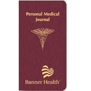 Custom PMJ-1A Personal Medical Journal, Shimmer Covers, 3 1/2 x 6 1/2 inch, Saddle-Stitched