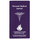 Custom PMJ-1C Personal Medical Journal, Cobblestone Covers, 3 1/2 x 6 1/2 inch, Saddle-Stitched