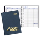Custom PR-33 Weekly Planners, Continental Vinyl Covers, 8 1/2 x 11 inch, Wire-Bound