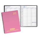 Custom PR-34 Weekly Planners, Twilight Covers, 8 1/2 x 11 inch, Wire-Bound
