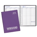 Custom PR-35 Weekly Planners, Frosted Vinyl Covers, 8 1/2 x 11 inch, Wire-Bound