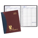 Custom PR-37 Weekly Planners, Carriage Vinyl Covers, 8 1/2 x 11 inch, Wire-Bound