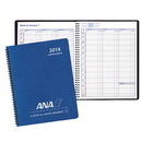 Custom PR-3C Weekly Planners, Cobblestone Covers, 8 1/2 x 11 inch, Wire-Bound